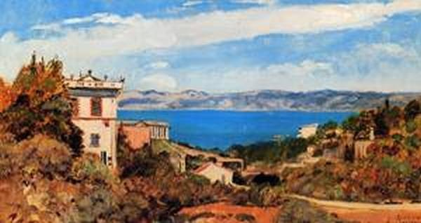 The Bay of Marseille Saint Henri 1868
